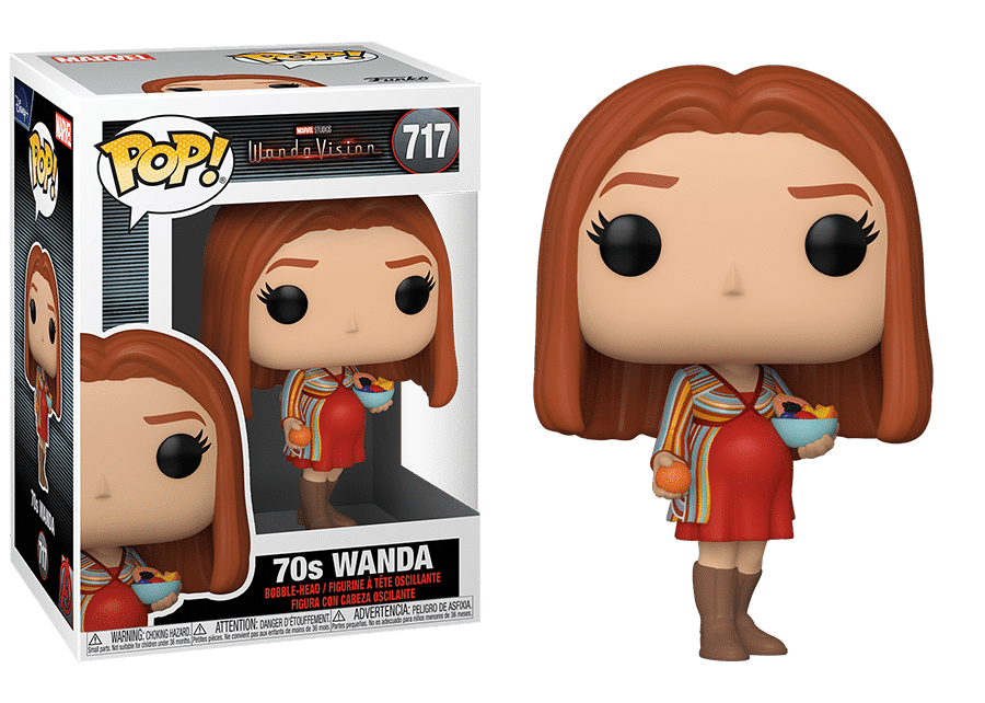 Funko Pop! WandaVision: 70s Wanda #717