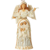 Heartwood Creek: Breath of Heaven (White Woodland Nativity Angel Figurine)