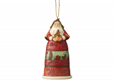 Heartwood Creek: Twelve Days of Christmas Santa (Hanging Ornament)