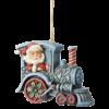Heartwood Creek: Santa in Train Engine (Hanging Ornament)