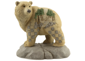 Heartwood Creek: Wild and Free (Bear with Scene)