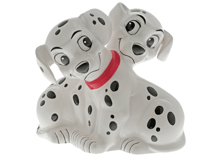 Enchanting Collection: Friend For Life - 101 Dalmations Money Bank