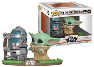 Funko Pop! The Mandalorian: The Child With Egg Canister #407