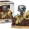 Funko Pop! The Mandalorian and the Child on Bantha #416