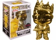 Funko Pop! Rocks: Notorious B.I.G. with Crown (gold) #82