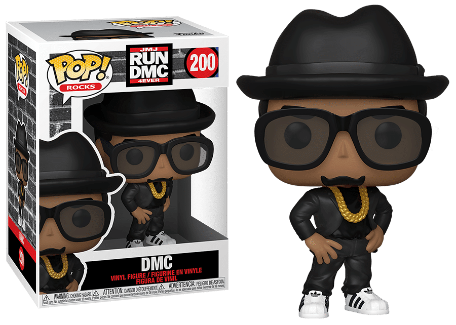 Funko Pop! Rocks: Run DMC - DMC #200