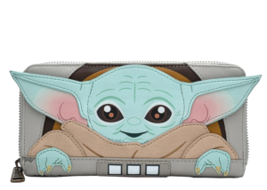 Loungefly: The Mandalorian The Child Baby Yoda Cradle Wallet