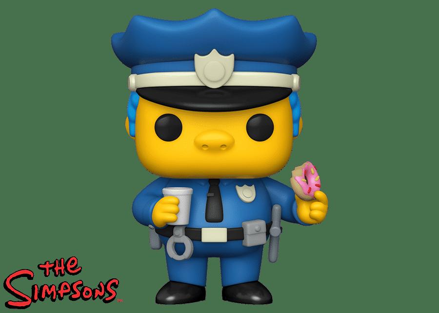 Funko Pop! The Simpsons: Chief Wiggum