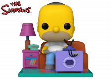 Funko Pop! The Simpsons: Homer watching TV
