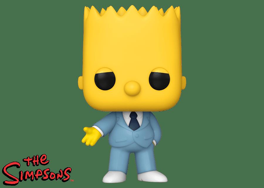 Funko Pop! The Simpsons: Mafia Bart