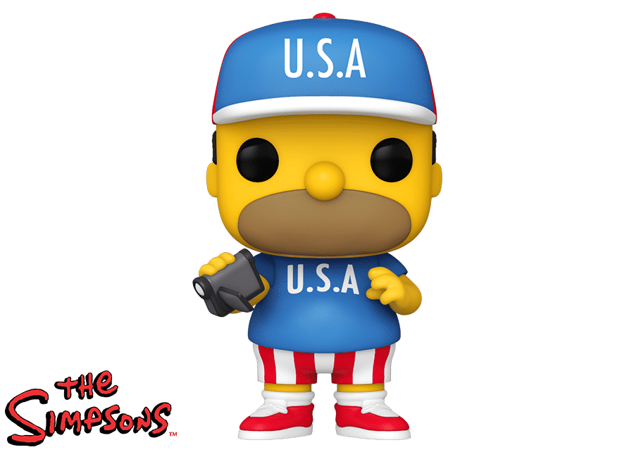 Funko Pop! The Simpsons: Homer USA
