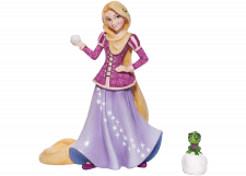 Disney Showcase: Holiday Rapunzel Figurine