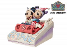 Disney Traditions: Mickey and Minnie Sledding