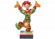 Disney Traditions: Tigger as Christmas Elf