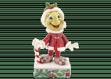 Disney Traditions: Christmas Jiminy Cricket Figurine