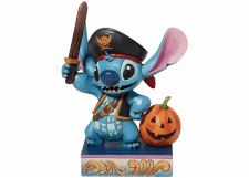 Disney Traditions: Stitch as a Pirate Figurine