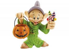 Disney Traditions: Dopey Trick-or-Treating Figurine