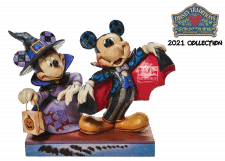 Disney Traditions: Mickey and Minnie as a Vampire Figurine