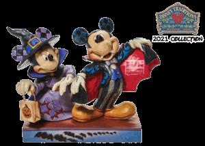 Disney Traditions: Mickey and Minnie as a Vampire Figurine