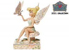 Disney Traditions: White Woodland Tinkerbell Figurine