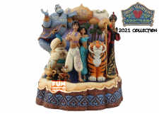 Disney Traditions: Aladdin Carved by Heart Figurine