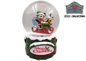 Disney Traditions: Mickey and Pluto Christmas Waterball