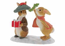 Beatrix Potter: Peter Rabbit - Flopsy and Benjamin Bunny Under the Misteltoe