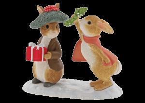 Beatrix Potter: Peter Rabbit - Flopsy and Benjamin Bunny Under the Misteltoe
