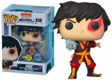 Funko Pop! Avatar - The Last Airbender: Zuko (GITD) #838