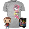 Funko Pop! & Tee Back to the Future: Marty with Hoverboard #964