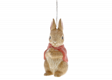 Beatrix Potter: Peter Rabbit - Flopsy Sculpted Hanging Ornament