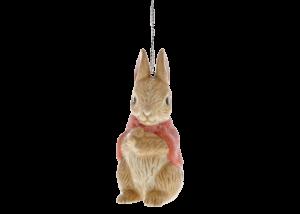 Beatrix Potter: Peter Rabbit - Flopsy Sculpted Hanging Ornament