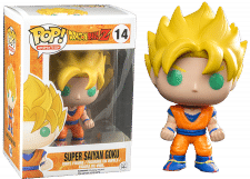 Funko Pop! Dragon Ball Z: Super Saiyan Goku #14