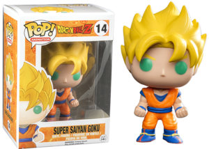 Funko Pop! Dragon Ball Z: Super Saiyan Goku #14