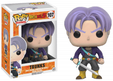 Funko Pop! Dragon Ball Z: Trunks #107