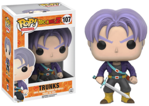 Funko Pop! Dragon Ball Z: Trunks #107