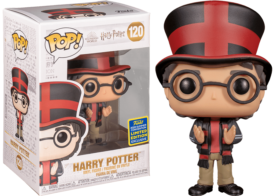 Funko Pop! Harry Potter: Quidditch World Cup Harry #120