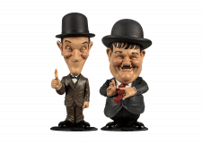 Mini Bobblehead: Laurel and Hardy