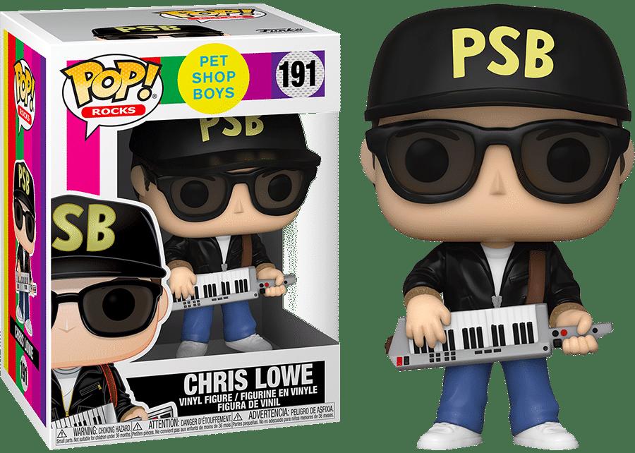 Funko Pop! Pet Shop Boys: Chris Lowe #191