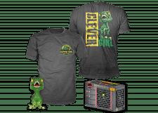 Funko Pop! & Tee Jurassic Park: Velociraptor #888