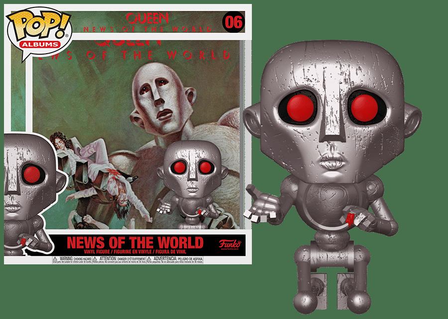 Funko Pop! Queen: News of the World #06
