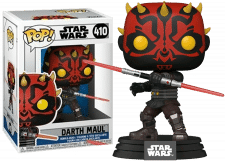 Funko Pop! Star Wars Clone Wars: Darth Maul #410