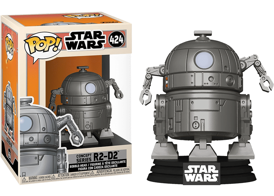 Funko Pop! Star Wars: Concept R2-D2 #424