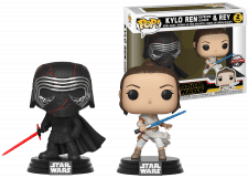 Funko Pop! Star Wars: Kylo Ren and Rey 2-Pack
