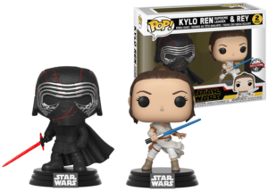 Funko Pop! Star Wars: Kylo Ren and Rey 2-Pack