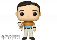 Funko Pop! The 40 Year Old Virgin: Andy with Oscar
