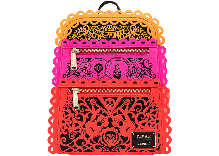 Loungefly: Coco Die Cut Party Flags Mini Backpack