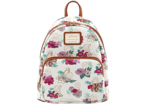 Loungefly: Disney Princess Floral Backpack