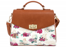 Loungefly: Disney Princess Floral Crossbody Bag