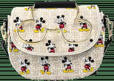Loungefly: Mickey Head Hardware AOP Crossbody Bag